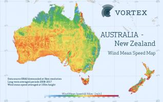 Map Australia And New Zealand.Portfolios Archivo Vortex